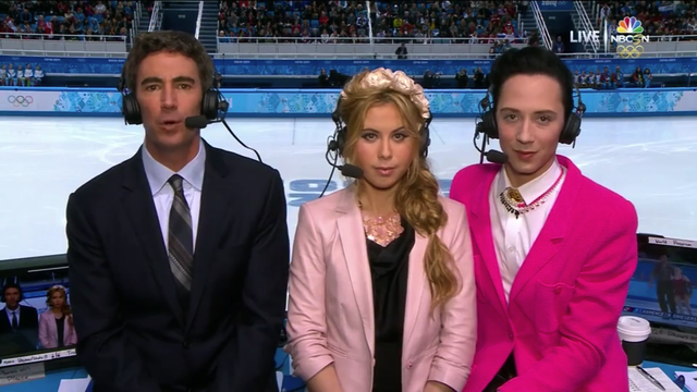 "Johnny Weir: ""I Brought the Gay"" to Sochi"