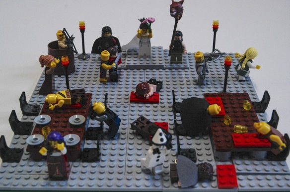 "Lit Links: Literature's ""Women Problem,"" Lego Red Wedding"