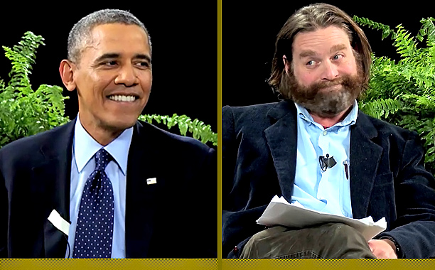Viral Video Recap: President Obama vs. Zach Galifianakis, Joel McHale Remakes 'True Detective'